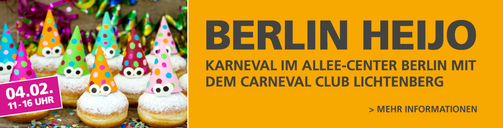 Berlin HeiJo Karneval im Allee-Center Berlin