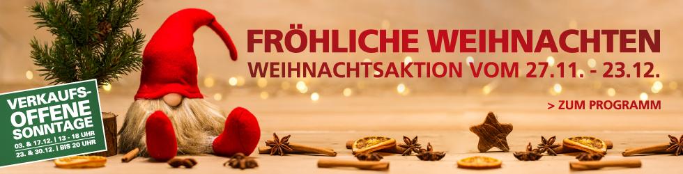 Allee-Center Berlin Fröhliche Weihnachten