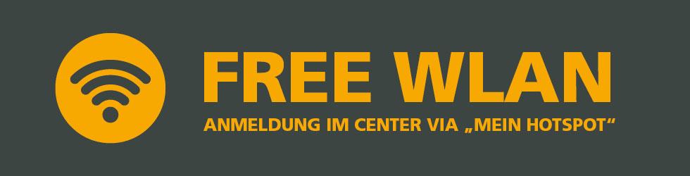 Allee Center Berlin FREE WLAN