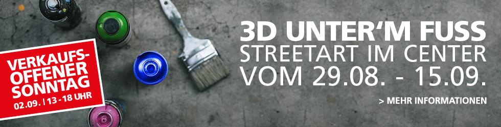 3D unter'm Fuß